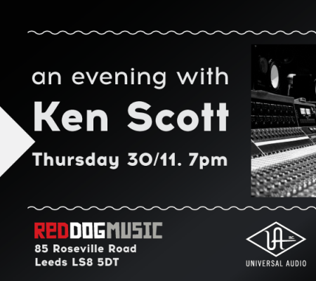 Ken Scott Red Music Store Leeds