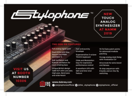 Stylophone Gen-R8 at NAMM 2019