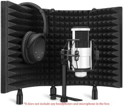Aokeo Professional Recording Microphone Isolation Shield